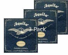 3 Full sets  Classical Guitar Strings Normal Tension 19C Aquila Alabastro