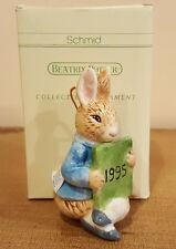 1995 Beatrix Potter Schmid Peter Rabit Ornament New old stock Recent find RARE!