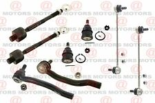 For Acura MDX 01-05 Front Left Right Tie Rods Lower Ball Joints Sway Bar 8 Pcs