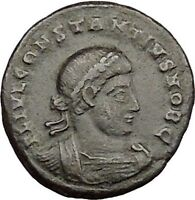 CONSTANTIUS II son of  Constantine the Great  Roman Coin Glory of  Army i39471
