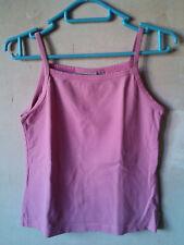 H&M Duster - rosa Top mit schmalen Trägern in Größe 164