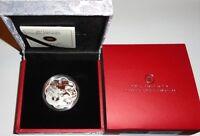 Canada 15 Dollars 1 Oz Silber Drache Lotus 2012 PP im Etui