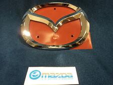 MAZDA RX-8 & MAZDA MX-5 MIATA NEW OEM FRONT CHROME MAZDA MASCOT EMBLEM