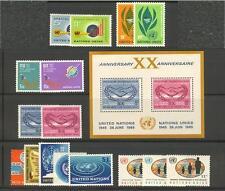 UN-New York #137-153, 1965 Annual Set, Unused NH