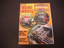 Popular Hot Rodding Magazine 1976 Engine Annual,Chevy's Small Block,Ford M2616