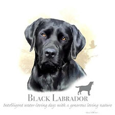 Black Labrador Dog T-Shirt  All Sizes & Colors (661)