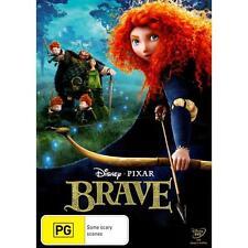 BRAVE (DISNEY PIXAR 2012) DVD Region 4 BRAND NEW & SEALED!