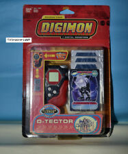 DIGIMON DIGIVICE D TECTOR US VER 1.0 RED BLACK COL NEW With CARDS RARE ONLY ONE