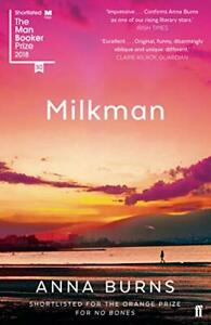 Milkman: Winner of the Man Booker Prize 2018 by Anna Burns Book The Cheap Fast
