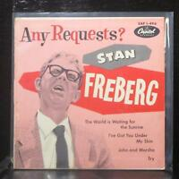 "Stan Freberg - Any Requests? 7"" VG Vinyl 45 Capitol EAP 1-496 USA 1955"