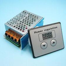 4000W 220V AC SCR Voltage Regulator Dimmer Electric Motor Speed Controller