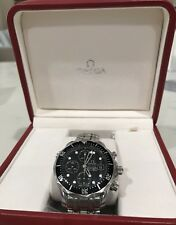 OMEGA SEA MASTER JAMES BOND WATCH 21330424001001 W/ OMEGA WARRANTY 1YR