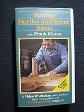Making Mortise and Tenon Joints [Nov 01, 1986] VHS
