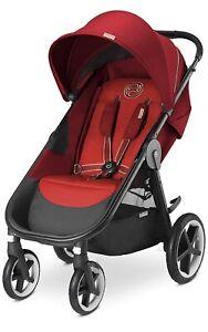 *New* 2015 Cybex Gold Eternis M4 Stroller - Hot & Spicy Red
