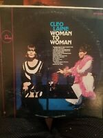 Cleo Laine – Woman To Woman RCA Victor Vinyl Record LP