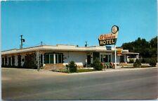 Roadside Postcard El Palomino Motel Retro Sign Horse US 30 Sidney Nebraska NE