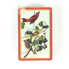 Hallmark Playing Swap Cards Red Yellow Birds Black Berries Collectible Vintage