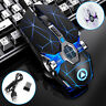 Mouse Gaming USB Wireless Mouse LED Backlit 7 Color Rechargeable For PC / Gaming