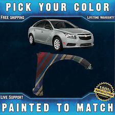 NEW Painted To Match- Passengers Front Right RH Fender for 2011-2016 Chevy Cruze