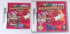 Juego: mario slam baloncesto para el Nintendo DS Lite + + xl + 2ds + 3ds
