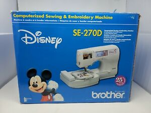 Brother SE 270D Disney Sewing Embroidery Machine with Accessories