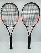 New listing 2 Babolat Pure Strike Tour Tennis Racquets 18x20 4 1/2