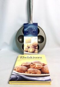 WILLIAMS SONOMA Filled Pancake (EBELSKIVER) Nordicware Pan & Cookbook - NEW