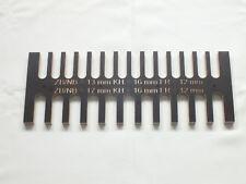 Zinkenschablone 17 und 13 mm Kopierring 16 mm Zinken Frässchablone Fingerzinken
