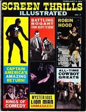 Forrest Ackerman SCREEN THRILLS ILLUSTRATED #7 (1964) Capt. America, Errol Flynn