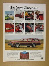 1978 Chevrolet Caprice Classic Station Wagon 8x photo vintage print Ad