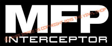 MAD MAX MFP Interceptor Mel Gibson, decal sticker hot rod, cars trucks