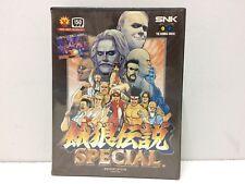 Fatal Fury Special SNK Neo Geo AES Jap