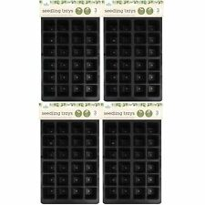 12 x 24 Cell Multi Cell Plastic Seed Seedling Tray Young Plants Propagator Garde