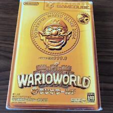 WARIO WORLD Mario Nintendo GameCube GCN Japan