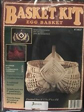 Egg basket Weaving Kit, Weaving, Supplies, Reed, Pattern