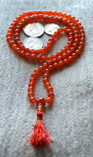 Sacral Chakra mala, Carnelian mala beads necklace Imagination Creativity Emotion