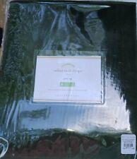 "1 NEW Pottery Barn Velvet Twill 50"" x 84"" Drape Curtain~Hunter Green"