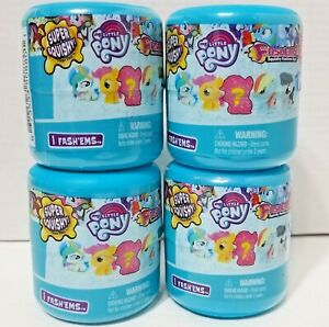 (4) My Little Pony Fashems Series 10 Blind Capsules New Sealed Lot of 4