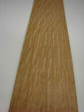 OAK  VENEER  16 sheets @ 139 cm by 11 cm  (1297)