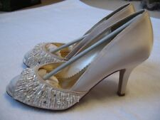 Monsoon VA Pearl Peeptoe Wedding Shoes