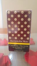 VINTAGE HERRERA FOR MEN EDT 50 ml SPRAY. NEW. CAROLINA HERRERA.