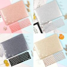 Glitter Laptop Case for MacBook Air Retina Hard Shell +Keyboard protector Cover