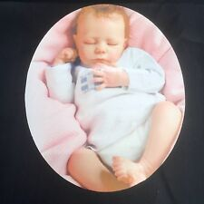 Memorial personalised Photo Metal Oval Grave Side  Plaque memorial 125mm x70mm