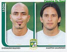 293 BEGINES / MARTIN CALDERON CF.LEON MEXICO STICKER SUPERFUTBOL 2009 PANINI