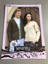 Wendy Serenity Aran Knitting Pattern - Cardigans - 76-112cm (5451)