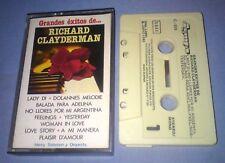 RICHARD CLAYDERMAN GRANDES EXITOS DE cassette tape album T5273