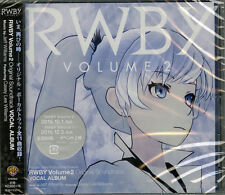 OST-RWBY VOLUME 2 ORIGINAL SOUNDTRACK VOCAL ALBUM-JAPAN CD F56