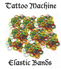 Tattoo Elastic Bands For Machine Gun Needle Tips Grips