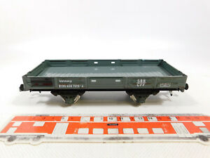 CP124-0,5# ETS Spur 0/DC Blech-Niederbordwagen/Güterwagen Lklmmp SBB, sehr gut