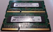 4GB 2x2GB 1Rx8 PC3L-10600S-9-10-B1 - RAM DDR3 - Laptop